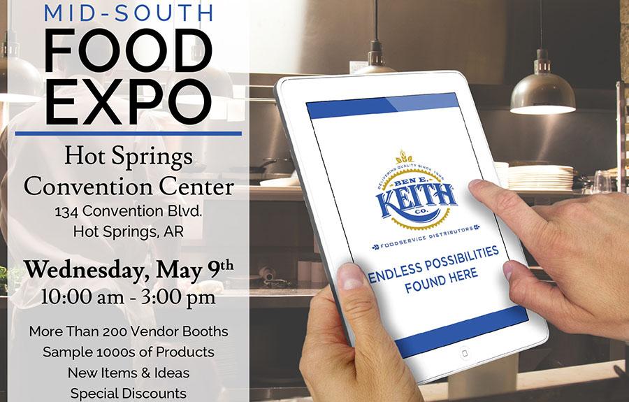 2018 Ben E. Keith Mid-South Food Expo