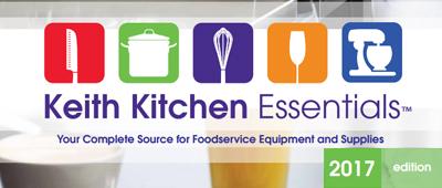 Keith Kitchen Essentials 2017 Catalog