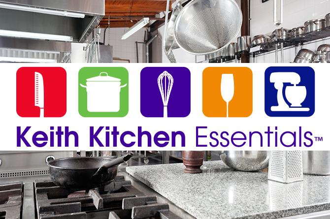 60 Year Anniversary >> Keith Kitchen Essentials