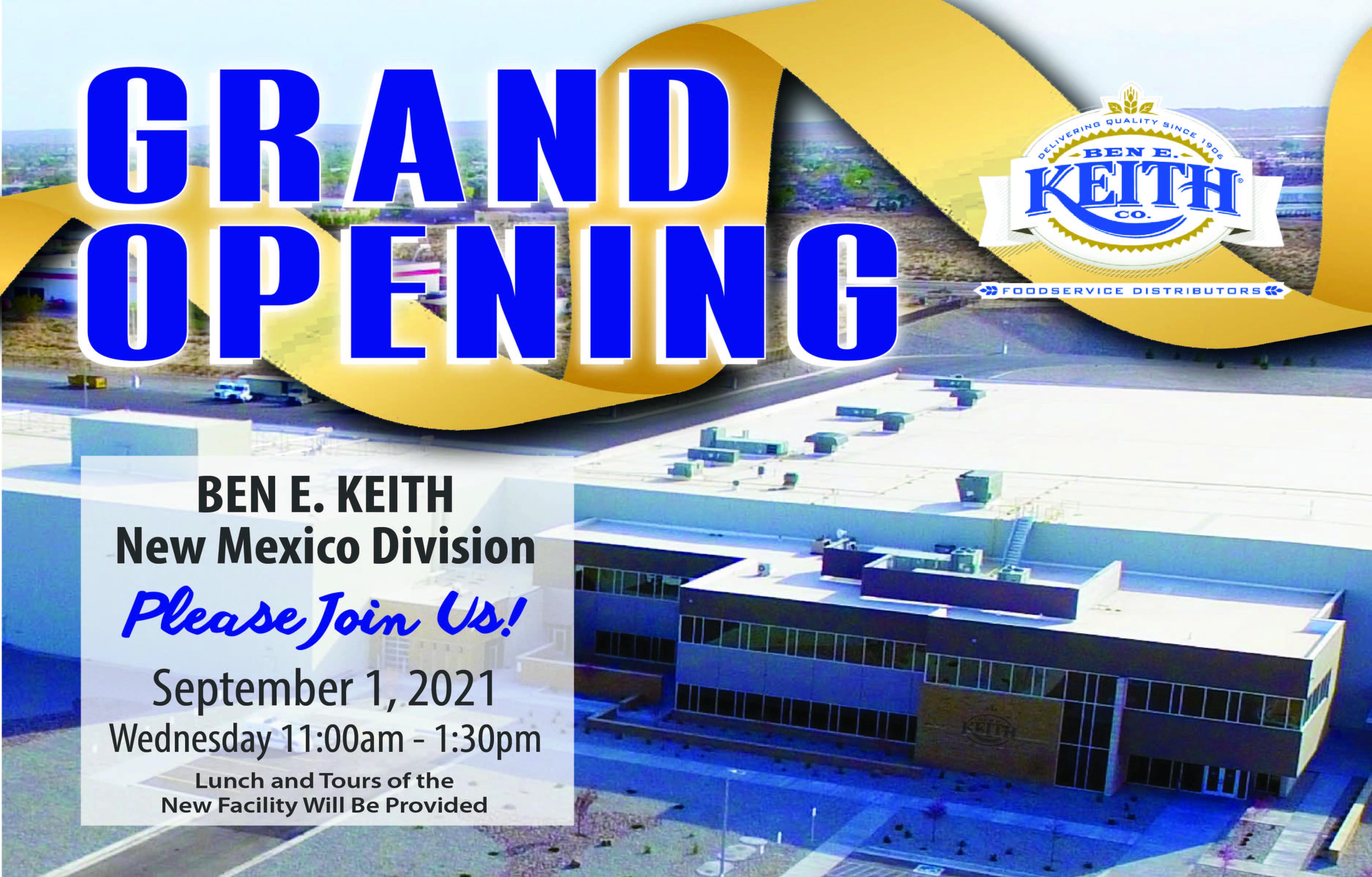Ben E. Keith New Mexico Grand Opening