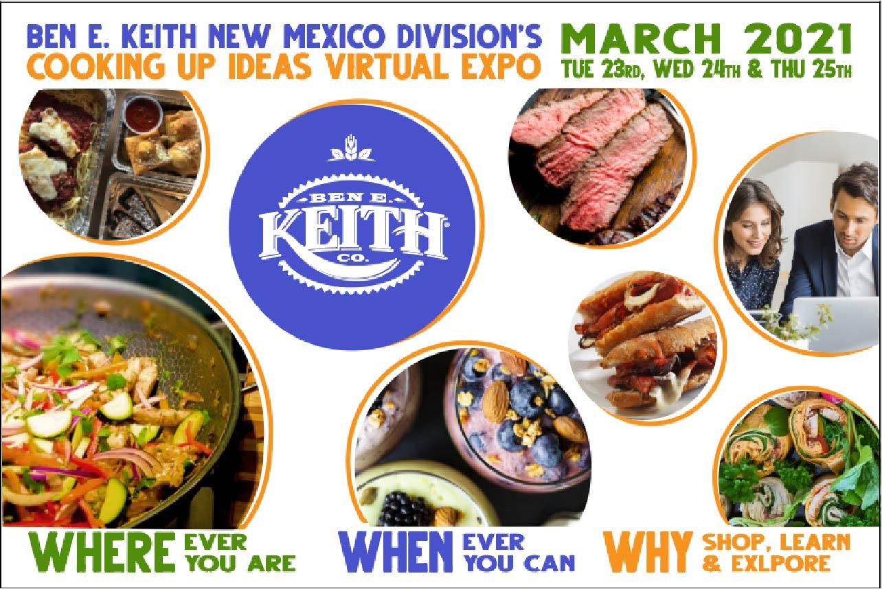 Ben E. Keith New Mexico Cooking Up Ideas Virtual Food Expo
